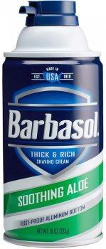 Крем-пена для бритья Barbasol с алоэ для сухой кожи Soothing Aloe Shaving Cream 283 г (051009002731)