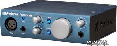 Аудіоінтерфейс PreSonus AudioBox iOne (219888)