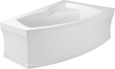 Ванна акриловая POLIMAT FRIDA 160х105 R + ножки