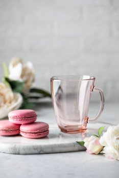 Чашка Luminarc Шейп 320 мл Розовая (Q0391/1)