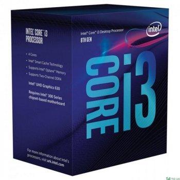 Процесор CPU Core i3-8300 Quad-Core 3,70Ghz/8Mb/s1151/14nm/65W Coffee Lake-S (BX80684I38300) s1151 BOX