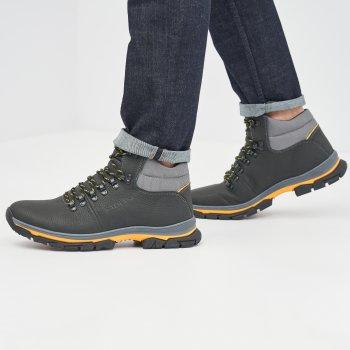 Ботинки Fabiani B313-22 Черно-желтые