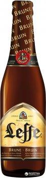 Упаковка пива Leffe Brune темне фільтроване 6.3% 0.33 л x 24 шт (5410228146162)