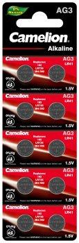 Батарейки Camelion AG 3 LR41 10 шт (AG3-BP10)