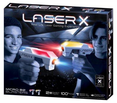 Игровой набор для лазерных боев Lazer X Micro для двух игроков (87906)