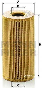 Фильтрующий элемент масляного фильтра MANN HU 618x