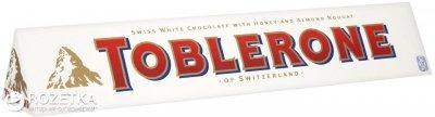 Шоколад Toblerone Белый 100 г (7614500010310)