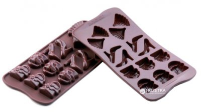 Форма Silikomart Мода 4.1x3 см для шоколада (SCG14)