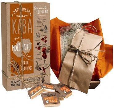 Подарочный набор Shokopack For Lovely Mother 100 г кофе + 5 шоколадных комплиментов (4820194870588)