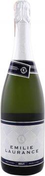 Вино ігристе Emilie Laurance Decouverte Blanc біле брют 0.75 л 11% (250011655953)