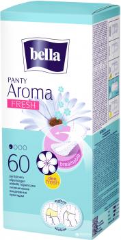Ежедневные гигиенические прокладки Bella Panty Aroma Fresh 50+10 шт (5900516311520)