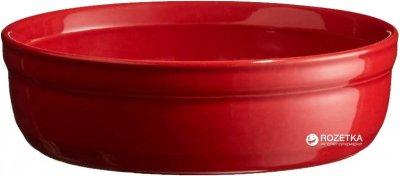 Форма порционная для крем-брюле Emile Henry HR Oven Ceramic Ovenware 12 x 12 x 3.5 см Красная (341013)