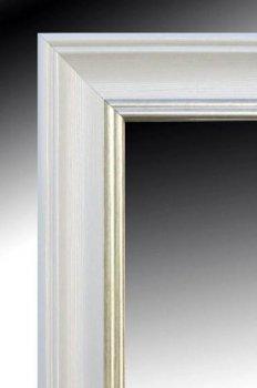 Зеркало настенное в раме Factura White prince 42х53.5 см белое