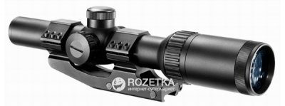 Оптический прицел Barska AR6 Tactical 1-6x24 (IR Mil-Dot R/G) (922719)