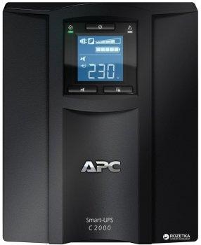 Джерело безперебійного живлення APC Smart-UPS C 2000VA LCD (SMC2000I)