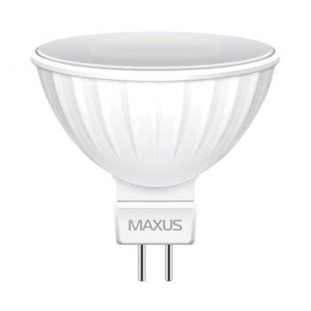 Світлодіодна лампа Maxus MR16 3W 3000K 220V GU5.3 AP (1-LED-511)