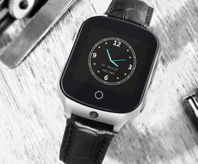 Дитячий годинник-телефон GOGPS ME M19 Black (M19BK)