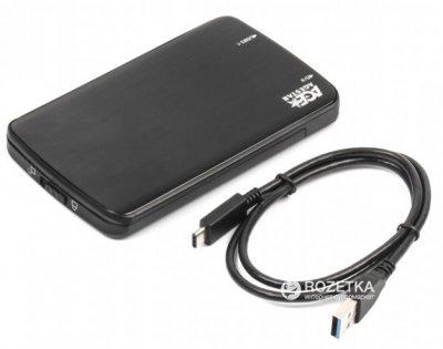 """Внешний карман Agestar для HDD 2.5"""" USB 3.1 Type C (31UB2A12C Black)"""
