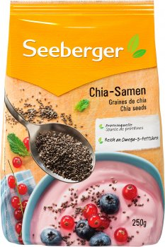 Насіння Чіа Seeberger 250 г (4008258510001)