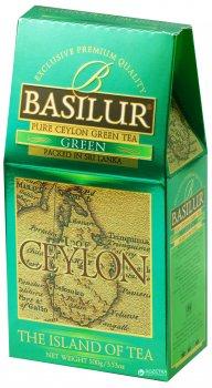 Чай зеленый рассыпной Basilur Остров Цейлон Зеленый 100 г (4792252001169)