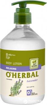 Лосьйон для тіла O'Herbal Розслаблюючий з екстрактом лаванди 500 мл (5901845501347)
