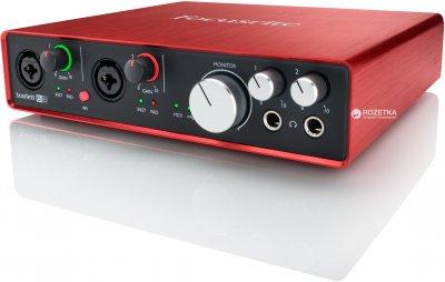 Аудіоінтерфейс Focusrite Scarlett 6i6 2nd Gen (223893)