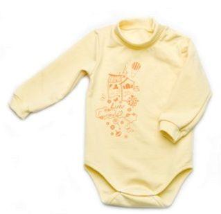 Боди-гольф Модный карапуз 302-00015-1 Желтый