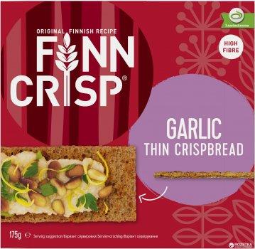 Сухарики Finn Crisp Garlic ржаные с чесноком 175 г (6410500090403)