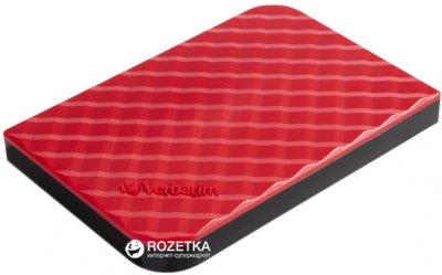 Жорсткий диск Verbatim Store n Go 1TВ 5400rpm 8МВ 53203 2.5 USB 3.0 External Red