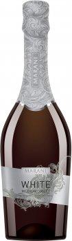 Вино игристое Marani белое полусладкое 0.75 л 11.5% (4867616021708)