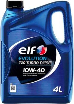 Моторное масло Elf Evolution 700 Turbo Diesel 10W-40 4 л (203701)