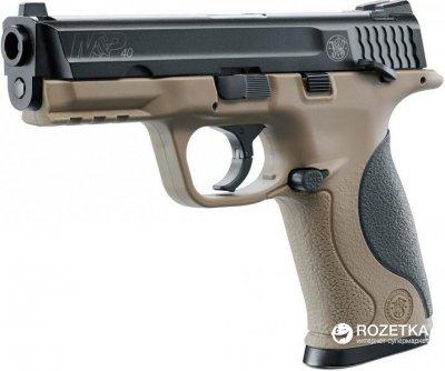 Пневматичний пістолет Umarex Smith & Wesson M&P40 TS FDE (5.8319)