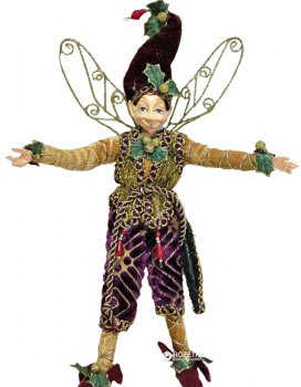 Фигурка Scorpio Кукла-эльф 25 см Золотистая (570710)(4820005707102)