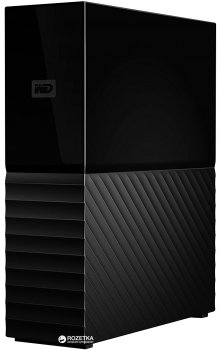 Жорсткий диск Western Digital My Book (New) 8TB WDBBGB0080HBK-EESN 3.5 USB 3.0 External