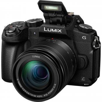 Фотоапарат Panasonic Lumix DMC-G80 Kit 12-60mm Black (DMC-G80MEE-K)