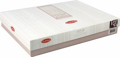 Комплект постельного белья Hobby Poplin Irene 200x220 Бежевый (8698499121751)