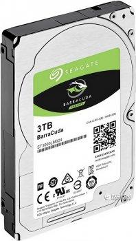 Жорсткий диск Seagate BarraCuda HDD 3TB 5400rpm 128MB ST3000LM024 2.5 SATA III