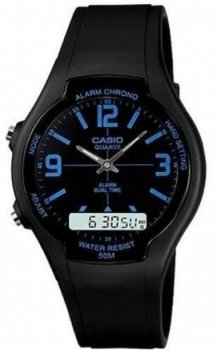 Чоловічий годинник Casio AW-90H-2BVDF