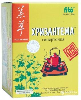Чай Fito ХРИЗАНТЕМА 20 шт. х 1,2 г (8934711008012_27274)