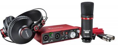 Комплект для звукозапису Focusrite Scarlett 2i2 Studio 2nd Gen (223891)