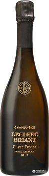 Шампанське Leclerc Briant Divin Solera біле сухе органічне 0.75 л 12% (3465020000541)