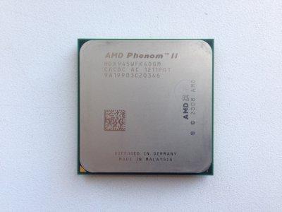 Б/У, Процесор, AMD Phenom II X4 945 3.0 GHz, 6MB, 2000MHz, HDZ945FBK4DGM, Socket AM3 125W