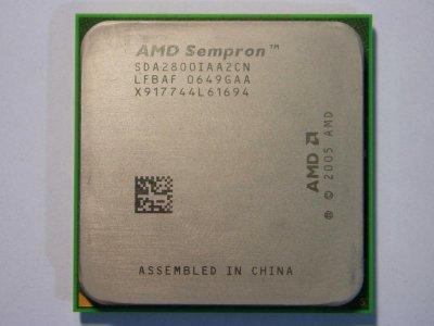 Б/У, Процесор, AMD sempron 2800+, 2 ядра, 1.6 GHz
