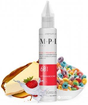 Жидкость для электронных сигарет SMPL 30 мл Strawboom (Чизкейк+клубника+хлопья)