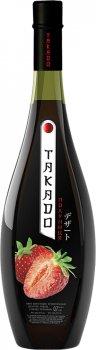 Вино Takado Полуниця рожеве десертне 0.7 л 11% (4820004924791)