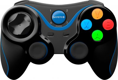 Бездротовий геймпад GamePro Bluetooth Android/iOS Black (MG550)
