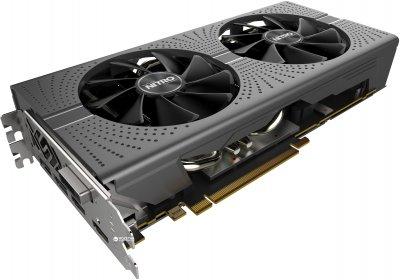 Sapphire PCI-Ex Radeon RX 580 Nitro+ LE 8GB GDDR5 (256bit) (1411/8000) (DVI, 2 x HDMI, 2 x DisplayPort) (11265-00)