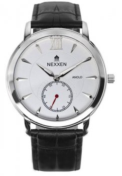 Годинник NEXXEN NE12802M PNP/WHT/BLK