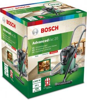 Пылесос универсальный Bosch Advanced Vac 20 (06033D1200)