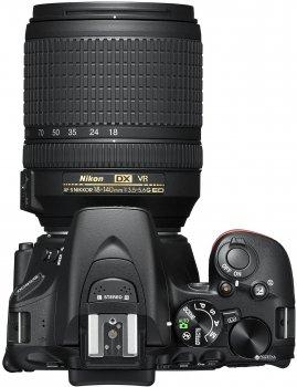 Фотоапарат Nikon D5600 AF-S 18-140mm f/3.5-5.6G VR Black (VBA500K002)